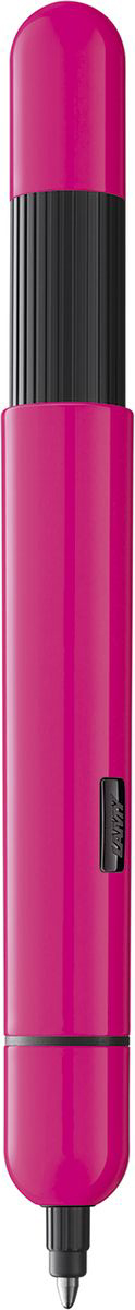 Lamy Ручка шариковая Pico цвет корпуса розовый черная4032075Ручка шариковая Pico знаменитого бренда Lamy станет прекрасной покупкой.Шариковая ручка карманного формата, при помощи нажимного механизма, легко трансформируется в полноразмерную.Ручка с металлическим корпусом.Ручка идеального размера, что позволяет принять правильное положение пальцев на письме.Используется стержень LAMY M22. Цвет пасты - черный.Ручка упакована в подарочную коробку.