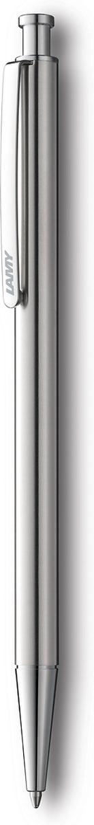 Lamy Ручка шариковая St цвет корпуса серый металлик черная4000927Лаконичная и элегантная ручка от легендарного дизайнера Герда А. Мюллера – создателя самых знаменитых моделей Lamy. Lamy st (245). Корпус из нержавеющей стали матовой полировки. Клип из листовой стали, обеспечивающий прочную фиксацию. Пластиковый нескользящий хват с рифленой поверхностью. Шариковая ручка используется со стержнями Lamy М16. Комплектация: подарочный футляр, гарантийная карточка.Дизайн: Герд А. Мюллер.История бренда Lamy насчитывает более 80-ти лет, а его философия заключается в слогане Дизайн. Сделано в Германии. Компания получила более 100 самых престижных дизайнерских наград. Все пишущие инструменты Lamy производятся на фабрике в Гейдельберге (Германия).