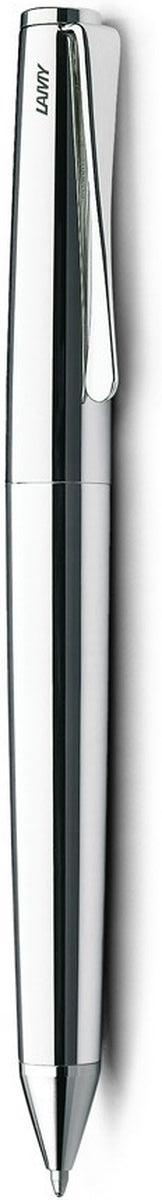 Необычный клип в форме лопасти – визитная карточка модельного ряда Lamy studio. Классические линии корпуса в сочетании со скулптурным клипом делают эту меодль гармоничной. Слегка утолщенный корпус удобно лежит в руке. Корпус покрыт платиной. Поворотный механизм активации. Шариковая ручка используется со стержнями большого объема Lamy М16. Комплектация: подарочный футляр, гарантийная карточка, буклет, салфетка для полировки. Дизайн: Ханнес Веттштайн История бренда Lamy насчитывает более 80-ти лет, а его философия заключается в слогане Дизайн. Сделано в Германии. Компания получила более 100 самых престижных дизайнерских наград. Все пишущие инструменты Lamy производятся на фабрике в Гейдельберге (Германия).