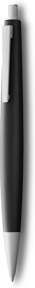 Lamy Ручка шариковая 2000 цвет корпуса черный черная4000792Ручка – икона стиля, олицетворяющая собой дизайн Lamy. Создана в традициях школы Баухауз с ее девизом Форма следует за функцией.Lamy 2000 свободна от излишеств как в материалах, так и в дизайне: функциональность и минимализм – ее главные черты. Корпус сигарной формы удобно лежит в руке. Изготовлен из легкого и прочного поликарбоната, который позволяет соединяться деталям с эффектом бесшовности. Идеально выверен по весу и балансу, что создает невероятный комфорт при письме. Поверхности обработаны брашинг-полировкой. Массивный подпружиненный клип довершает лаконичный и элегантный внешний вид этой ручки. Кнопочный механизм активации. Комплектация: подарочный футляр, гарантийная карточка, буклет. Дизайн: Герд А. Мюллер. История бренда Lamy насчитывает более 80-ти лет, а его философия заключается в слогане Дизайн. Сделано в Германии. Компания получила более 100 самых престижных дизайнерских наград. Все пишущие инструменты Lamy производятся на фабрике в Гейдельберге (Германия).
