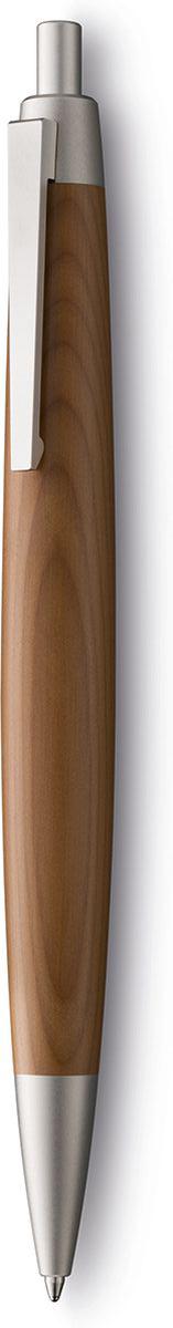 Lamy Ручка шариковая 2000 цвет корпуса светло-коричневый черная4029644Эта ручка – икона стиля, олицетворяющая собой дизайн Lamy. Создана в традициях школы Баухауз с ее девизом Форма следует за функцией.Она свободна от излишеств как в материалах, так и в дизайне: функциональность и минимализм – ее главные черты. Корпус сигарной формы удобно лежит в руке. Корпус ручки изготовлен из золотистого тиса - ценной и долговечной древесины. Стальной пружинный клип. Остальные детали имеют палладиевое покрытие. Кнопочный механизм активации. Шариковая ручка используется со стержнями Lamy M16 Комплектация: подарочный футляр, гарантийная карточка, буклет. Дизайн: Герд А. МюллерИстория бренда Lamy насчитывает более 80-ти лет, а его философия заключается в слогане Дизайн. Сделано в Германии. Компания получила более 100 самых престижных дизайнерских наград. Все пишущие инструменты Lamy производятся на фабрике в Гейдельберге (Германия).