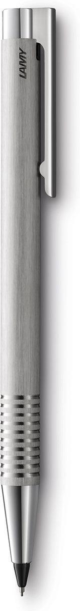 Lamy Карандаш механический Logo цвет серебристый4000724Отличительные черты этого модельного ряда – чистота формы и высокая функциональность. Надежные материалы и удобство в использовании делают ее хорошим компаньоном на все случаи жизни – это отличная ручка на каждый день. Пружинный стальной клип с встроенным шариком позволяет крепко фиксировать карандаш и плавно снимать. Корпус изготовлен из нержавеющей стали с брашинг-полировкой. Рифленый нескользящий хват.Каранадаш используется с грифелями Lamy M41. Дизайн: Вольфганг ФабианИстория бренда Lamy насчитывает более 80-ти лет, а его философия заключается в слогане Дизайн. Сделано в Германии. Компания получила более 100 самых престижных дизайнерских наград. Все пишущие инструменты Lamy производятся на фабрике в Гейдельберге (Германия).
