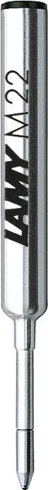 Lamy Стержень для шариковой ручки M22 черная M1613381Компактный стержень для шариковых ручек Lamy pico и Lamy scribble. С водостойкой чернильной пастой. Размер M