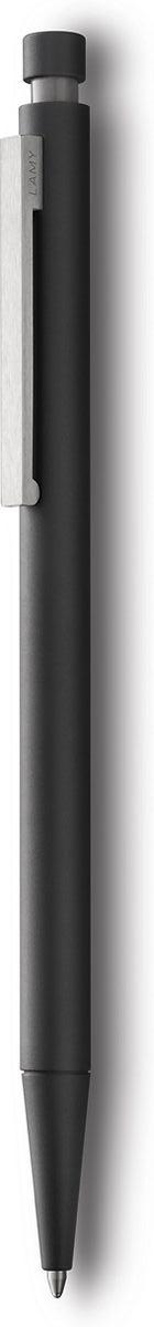 Lamy Ручка шариковая Cp1 цвет корпуса черный черная4000945Элегантная модель от дизайнера Герда А. Мюллера – создателя знаменитой ручки Lamy 2000. Тонкий стальной цилиндрический корпус с брашинг-полировкой. Стальной клип сильной фиксации. Кнопочная система активации. Используется со стержнем большого объема Lamy М16. Комплектация: подарочный футляр, гарантийная карточка буклет. Дизайн: Герд А. Мюллер История бренда Lamy насчитывает более 80-ти лет, а его философия заключается в слогане Дизайн. Сделано в Германии. Компания получила более 100 самых престижных дизайнерских наград. Все пишущие инструменты Lamy производятся на фабрике в Гейдельберге (Германия).