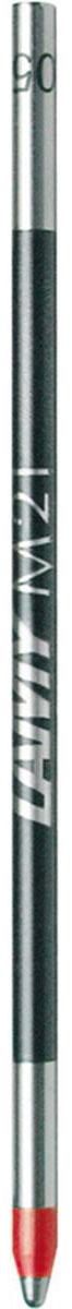 Lamy Стержень для шариковой ручки M21 красная1601043Мини-стержень для шариковой ручки М21 подходит для мультисистемных ручек Lamy и шариковых ручек Lamy spirit.Стержень выполнен в красивом дизайне.Стержень содержит водостойкую чернильную пасту.