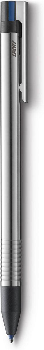 Lamy Ручка мультисистемная Logo M21 цвет корпуса серый металлик4001238Отличительные черты этой 3-цветной ручки - чистота формы и высокая функциональность. Надежные материалы и удобство в использовании делают ее хорошим компаньоном на все случаи жизни - это отличная ручка на каждый день.Пружинный стальной клип с встроенным шариком позволяет крепко фиксировать ручку и плавно снимать. Корпус изготовлен из нержавеющей стали матовой полировки. Рифленый нескользящий хват.Шариковая ручка со стержнями черного, синего и красного цветов. Кнопочный механизм подачи пишущего узла совмещен с клипом.Автоматическая активации цвета согласно индикаторам на корпусе. Используется со стержнями LAMY M21.