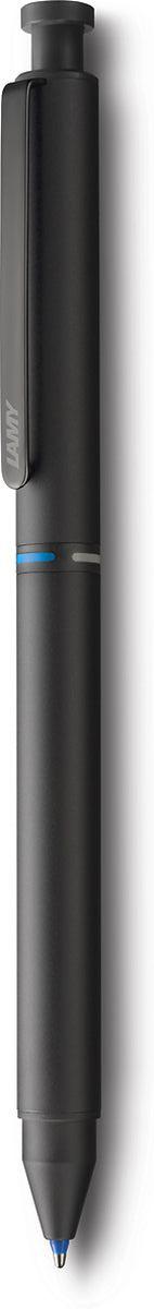 Lamy Ручка мультисистемная St M21 цвет корпуса черный4001274Лаконичная и элегантная ручка 3 в одном от легендарного дизайнера Герда А. Мюллера – создателя самых знаменитых моделей Lamy. Металлический корпус матового черного цвета. Клип из листовой стали, обеспечивающий прочную фиксацию. Пишущая система: черный и красный шариковые стержни, а также автоматический карандаш с грифелем 0,5 мм. Под колпачком кнопки активации грифеля находится ластик. Стержни подаются с помощью поворотного механизма корпуса, на котором имеется цветовая индикация. Используется со стержнями Lamy M21, грифелями Lamy M41 и ластиком Lamy Z15. Комплектация: подарочный футляр, гарантия, буклет. Дизайн: Герд А. МюллерИстория бренда Lamy насчитывает более 80-ти лет, а его философия заключается в слогане Дизайн. Сделано в Германии. Компания получила более 100 самых престижных дизайнерских наград. Все пишущие инструменты Lamy производятся на фабрике в Гейдельберге (Германия).