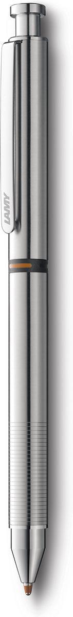 Lamy Ручка мультисистемная St M21 цвет корпуса серый металлик4001271Лаконичная и элегантная ручка от легендарного дизайнера Герда А. Мюллера – создателя самых знаменитых моделей Lamy. Корпус из нержавеющей стали матовой полировки. Клип из листовой стали, обеспечивающий прочную фиксацию. Нескользящий хват с рифленой поверхностью. Мультисистемная ручка используется со стержнями Lamy М21 и Lamy М55 и грифелями Lamy М41. Комплектация: подарочный футляр, гарантийная карточка, буклет.Дизайн: Герд А. МюллерИстория бренда Lamy насчитывает более 80-ти лет, а его философия заключается в слогане Дизайн. Сделано в Германии. Компания получила более 100 самых престижных дизайнерских наград. Все пишущие инструменты Lamy производятся на фабрике в Гейдельберге (Германия).