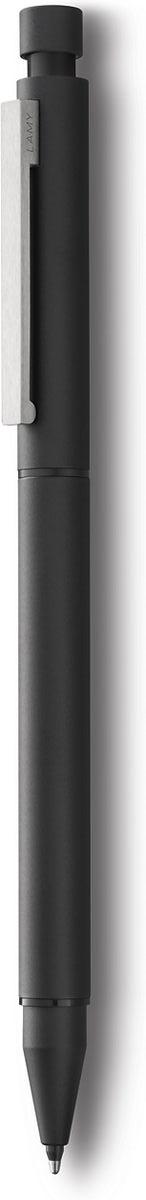Lamy Ручка мультисистемная Cp1 M21 цвет корпуса черный4001268Элегантная модель 2 в одном от дизайнера Герда А. Мюллера– создателя знаменитой ручки LAMY 2000.Тонкий цилиндрический корпус сматовым черным покрытием. На корпусе стальной клип сильной фиксации.Пишущая система: черный шариковый стержень и автоматическийкарандаш с грифелем 0,5 мм. Под колпачком кнопки активации грифеля находится ластик.Стержни подаются с помощью поворотного механизмакорпуса.Используется со стержнями LAMY M21, грифелями LAMY M41 и ластиком LAMY Z15.Комплектация: подарочный футляр, гарантия,буклет.Дизайн: Герд А. МюллерИстория бренда LAMY насчитывает более 80-ти лет, а его философия заключается в слогане Дизайн. Сделанов Германии. Компания получила более 100 самых престижных дизайнерских наград. Все пишущие инструменты LAMY производятся на фабрике вГейдельберге (Германия).