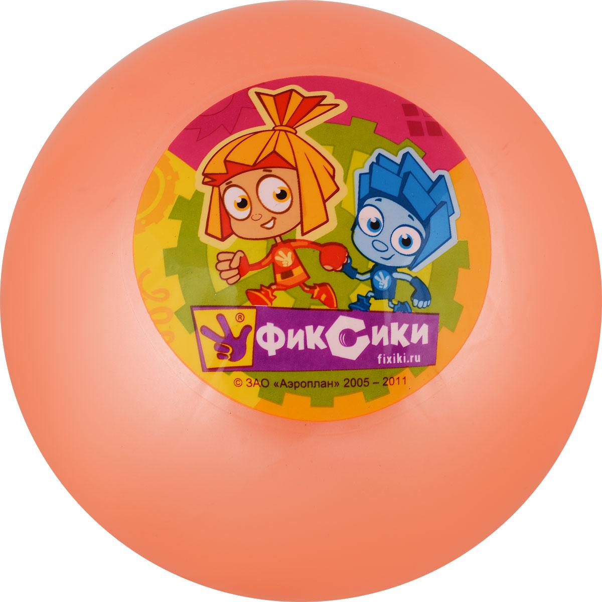 Играем вместе Мяч Фиксики цвет оранжевый 23 см