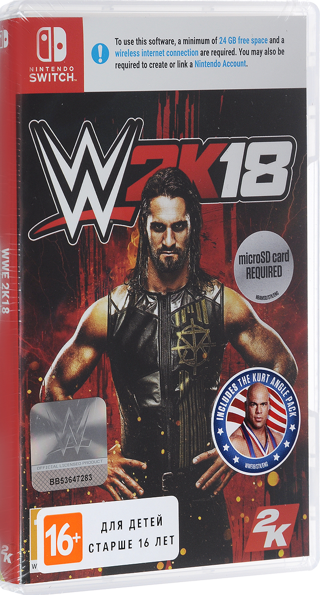 Zakazat.ru WWE 2K18 (Nintendo Switch)