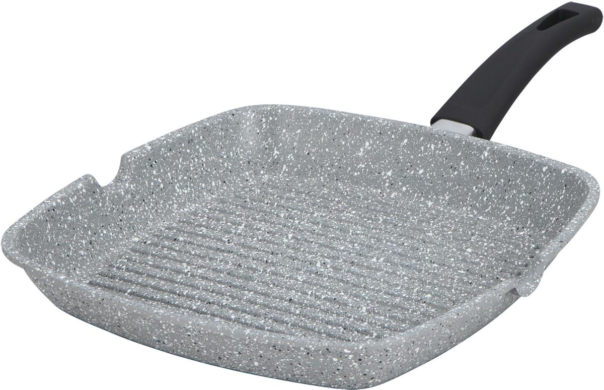 Сковорода-гриль Bohmann, с мраморным покрытием, цвет: серый, 28 х 28 см. 1001-28BHMRB1001-28BHMRBАлюминиевая сковорода-гриль. Мраморное антипригарное покрытие. можно жарить или обжаривать с небольшим количеством масла. Подходит для всех типов бытовых плит.