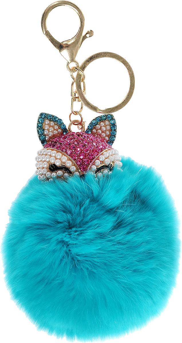 Vebtoy Брелок Пушистый котенок цвет бирюзовый веб камера vebtoy цвет мультиколор
