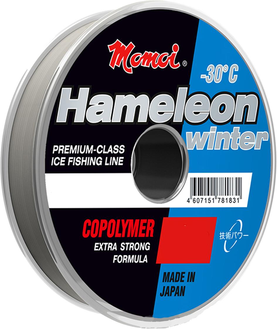 Леска зимняя Momoi Fishing Hameleon Winter, 0,19 мм, 4,0 кг, 30 м