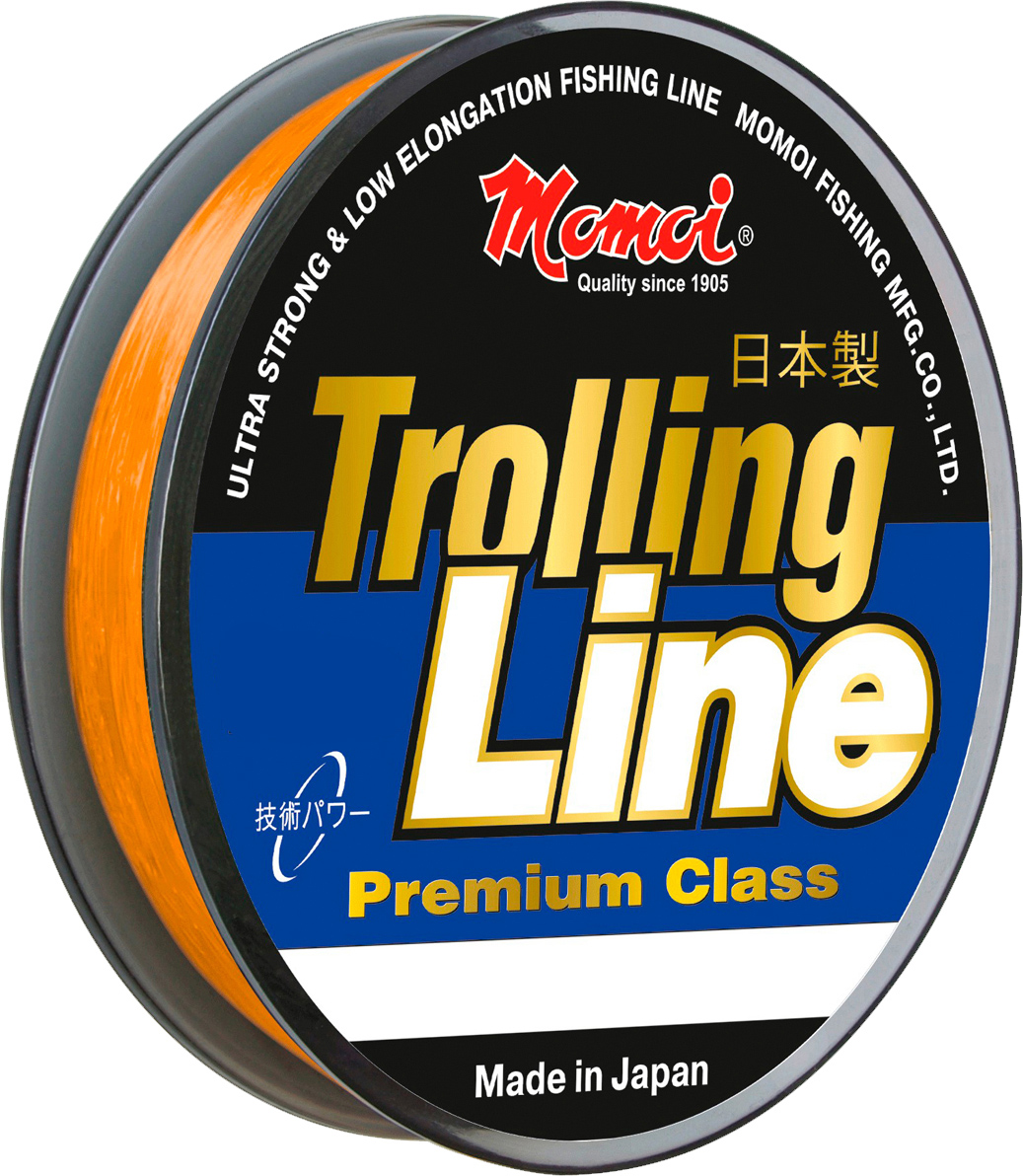 Леска Momoi Fishing Trolling Line, 0,50 мм, 23,0 кг, 300 м