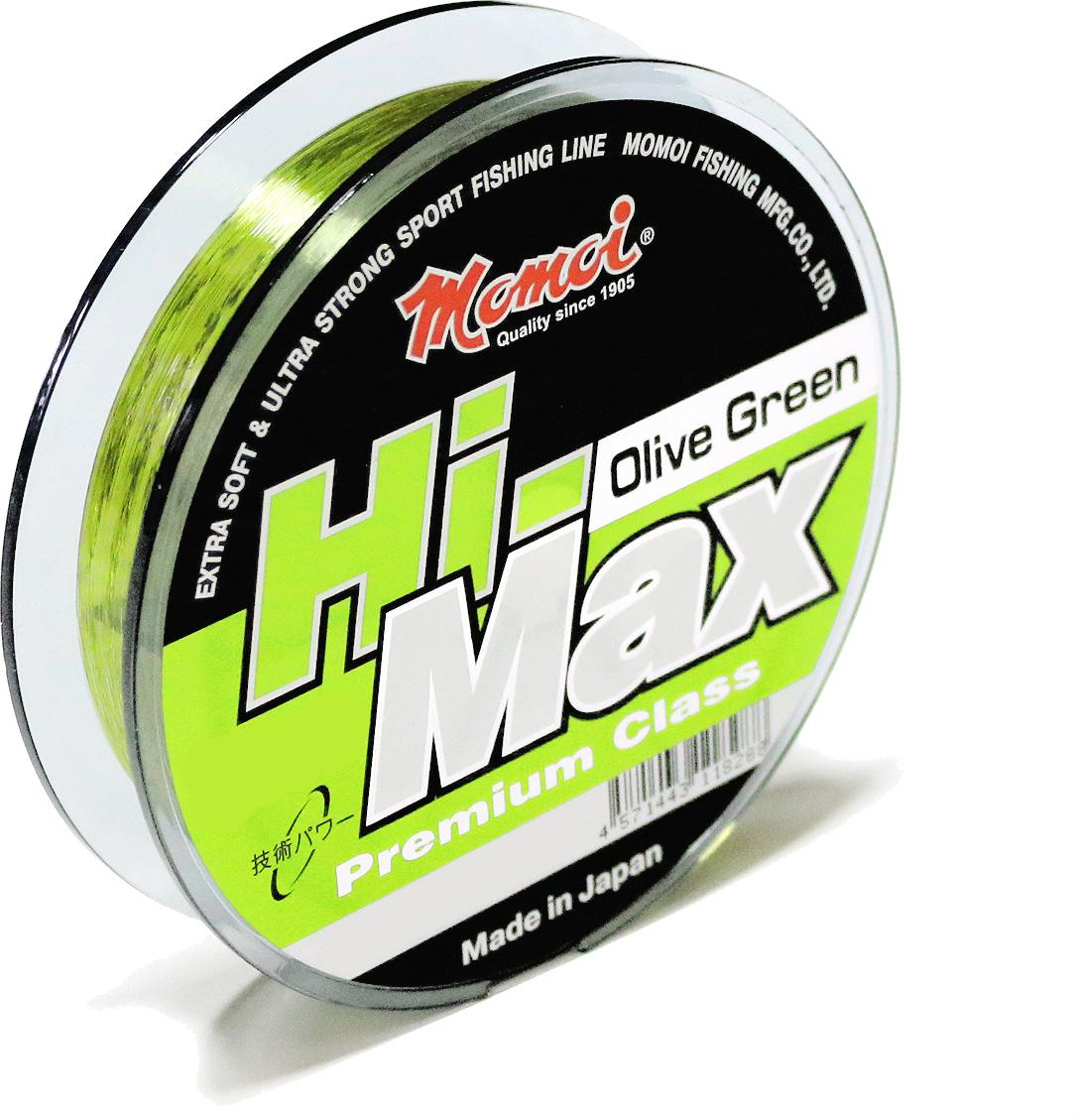 Леска Momoi Fishing Hi-Max Olive Green, 0,50 мм, 23,0 кг, 100 м6153Всесезонная рыболовная леска. Относится к типу спортивных лесок.Благодаря антистатическому скользкому покрытию идеально подходит как для спининга, так и для всех видов поплавочных удилищ с кольцами. Является одной из самых востребованных сополимерных лесок из-за отсутствия эффекта памяти и высокой узловой прочности.