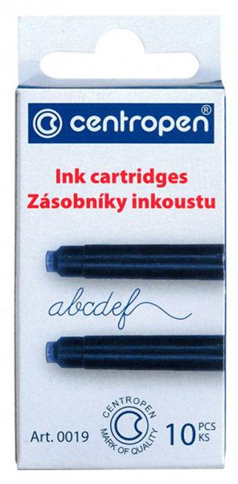 Centropen Картридж чернильный цвет синий 10 шт