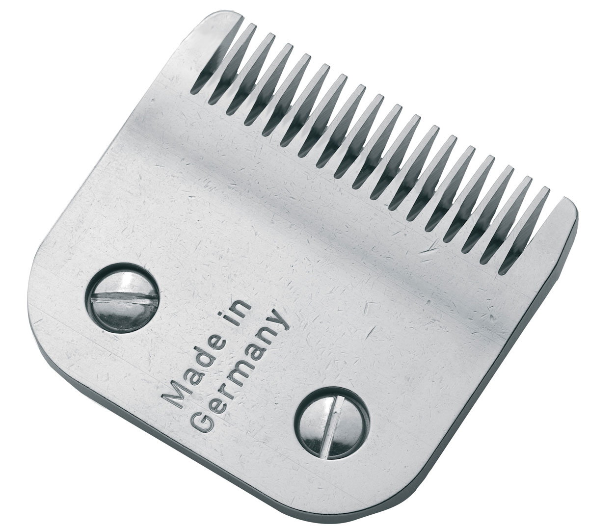 Moser Нож, 3 мм1245-7931Moser 1245-7931/7350 Нож для машинки - Нож сменный для машинки Moser 1245, 3 мм 8.5 F. Профессиональный быстросъемный ножевой блок из высококачественной стали, изготовленный в Германии с использованием технологии высокоточной шлифовки. Высота среза - 3 мм Ширина - 49 мм Подходит для моделей Moser 1250/ 1245 /1247 /1260