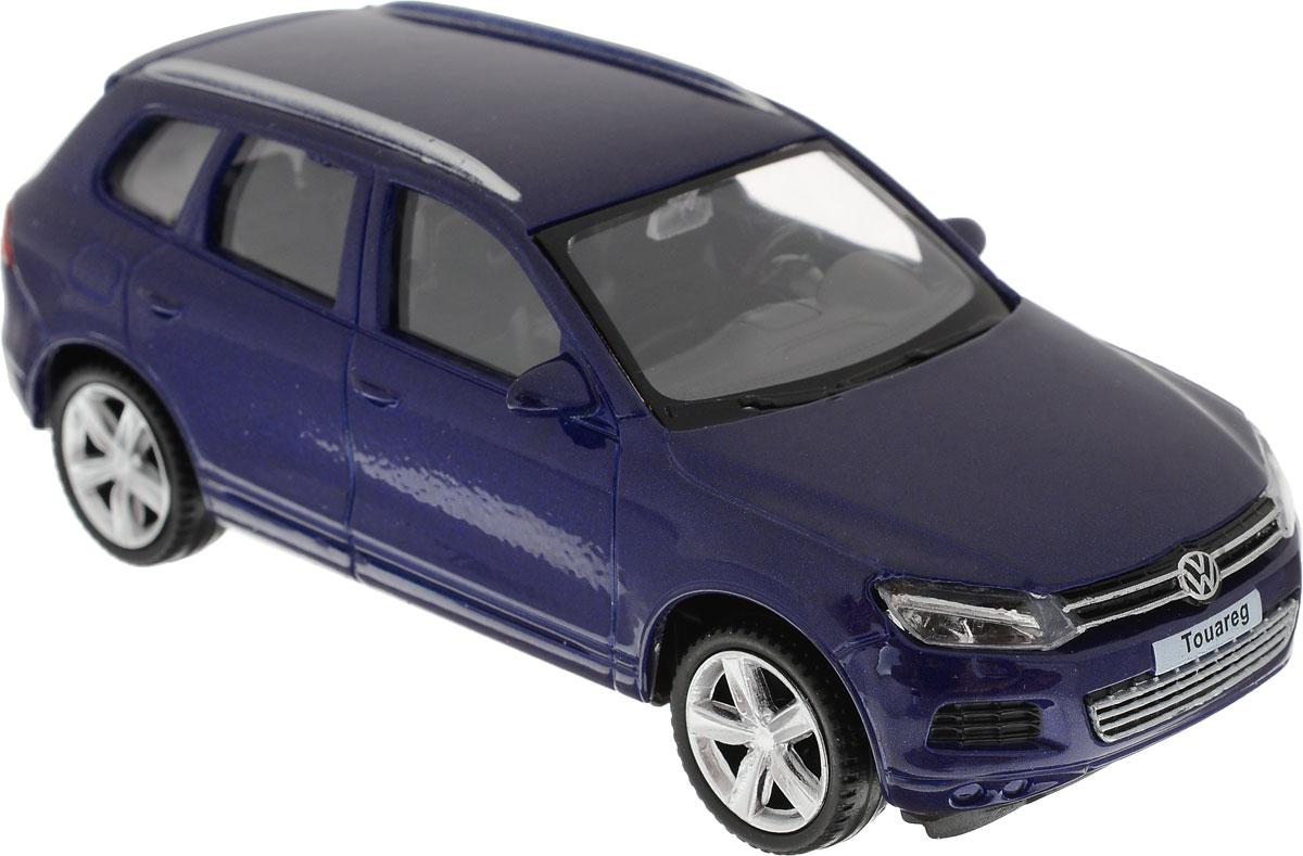 Autotime Модель автомобиля Volkswagen Golf GTI цвет синий uni fortune toys модель автобуса volkswagen t1 transporter цвет желтый синий