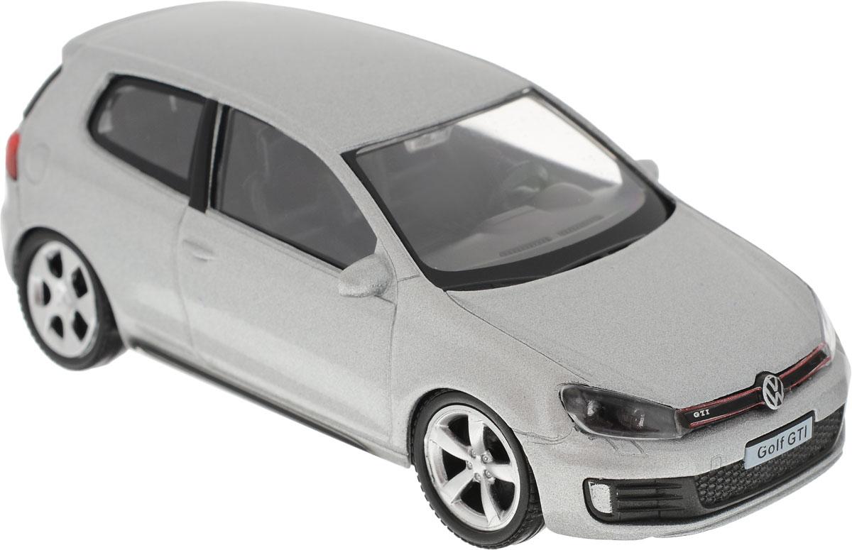 Autotime Модель автомобиля Volkswagen Golf Touareg цвет серебристый uni fortune toys модель автобуса volkswagen t1 transporter цвет желтый синий