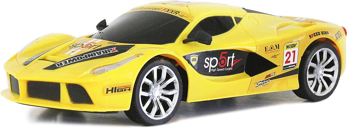 Taiko Машина спортивная на радиоуправлении цвет желтый 0302 набор бокалов для бренди гусь хрустальный королевская лилия