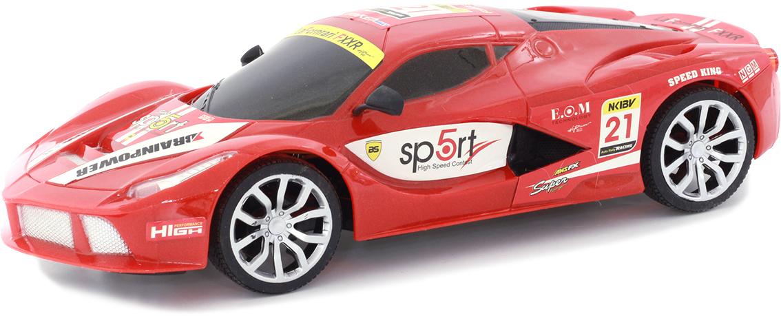 Taiko Машина спортивная на радиоуправлении цвет красный 0302