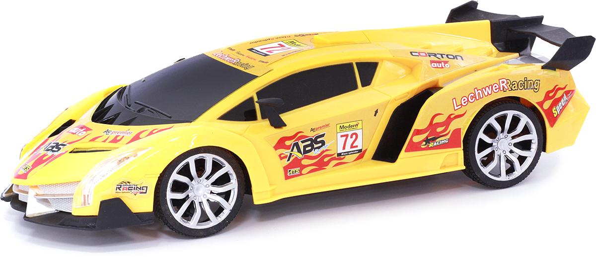 Taiko Машина спортивная на радиоуправлении цвет желтый 0303
