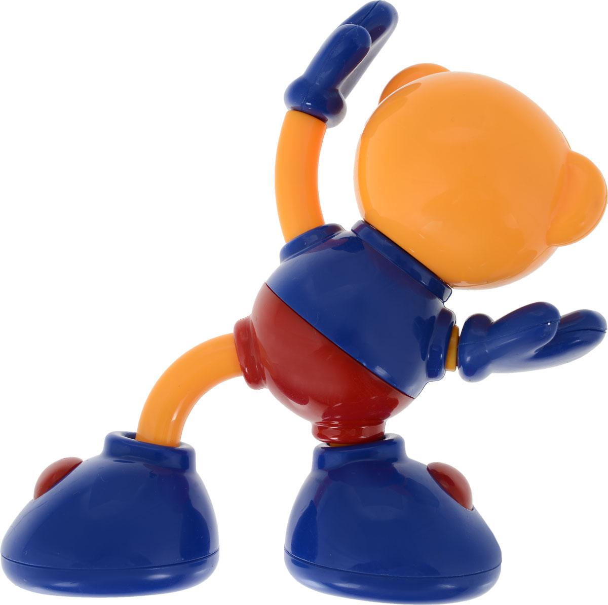 Ути-Пути Развивающая игрушка Медвежонок цвет оранжевый Ути-Пути