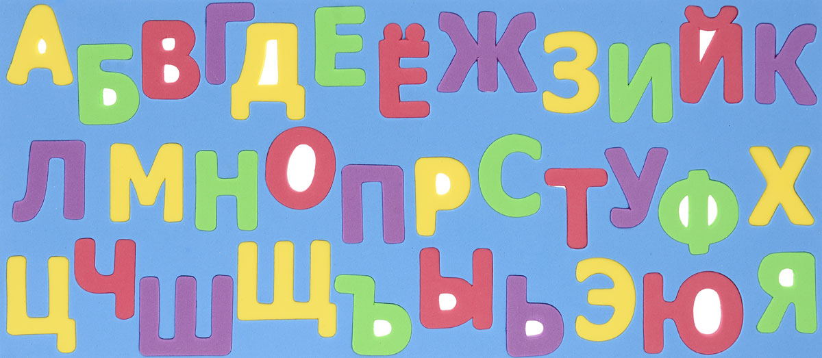 Kribly Boo Обучающая игра Набор букв цвет синий