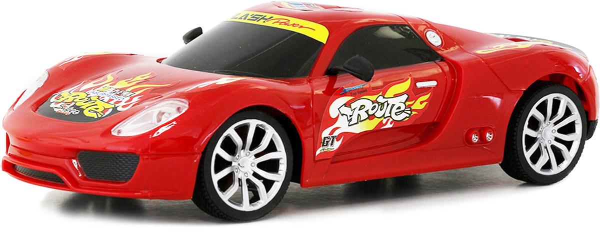 Taiko Машина спортивная на радиоуправлении цвет красный 0304