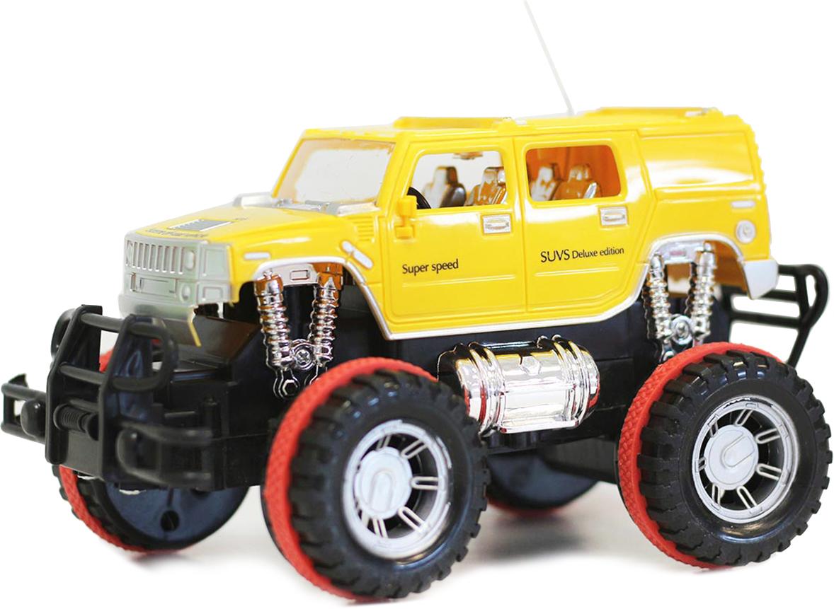 Taiko Джип на радиоуправлении цвет желтый 0310