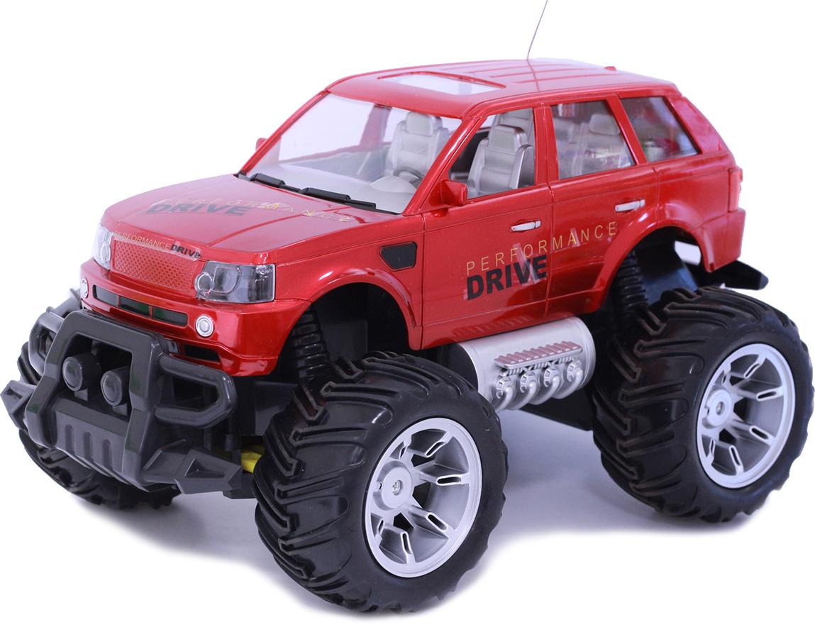 Taiko Джип внедорожник на радиоуправлении цвет красный 0372 - Радиоуправляемые игрушки