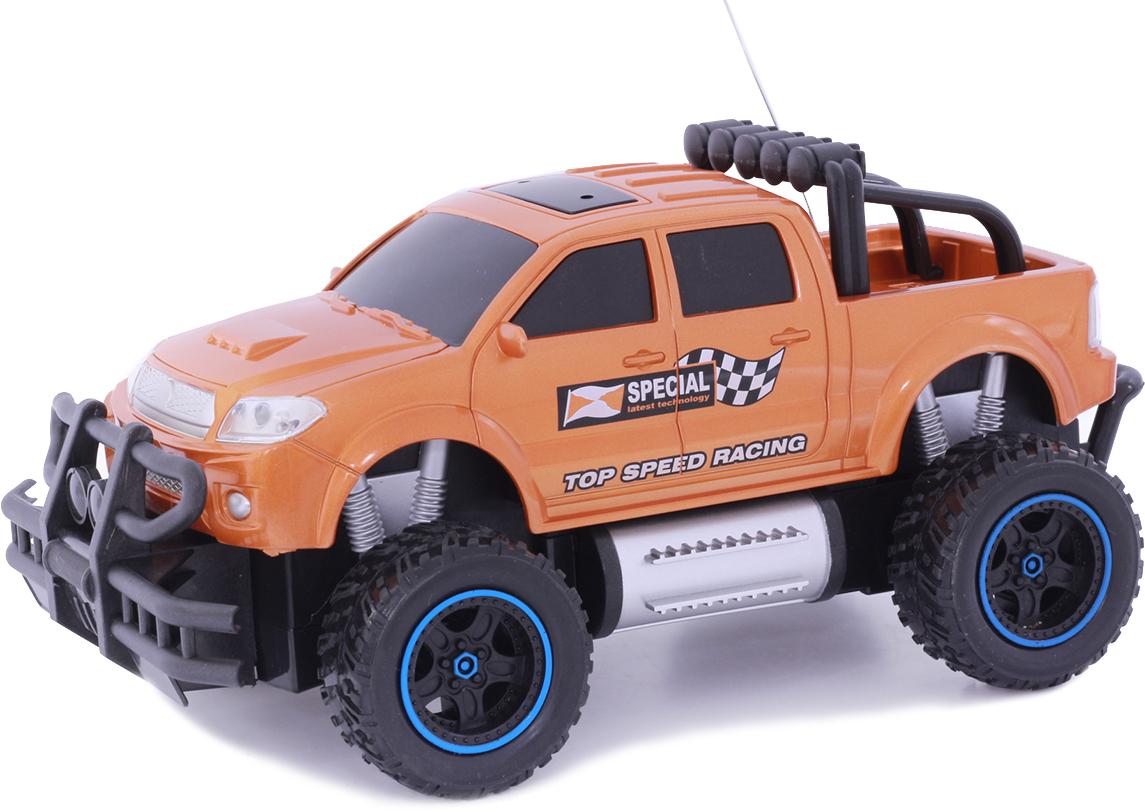 Taiko Джип внедорожник на радиоуправлении цвет оранжевый 0402