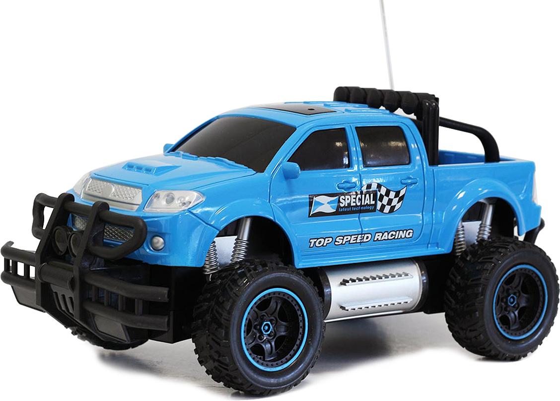 Taiko Джип внедорожник на радиоуправлении цвет синий 0402 pilotage машина на радиоуправлении внедорожник off road race truck цвет синий масштаб 1 20