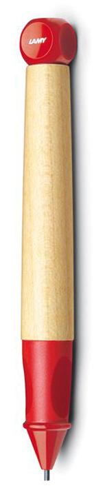 Lamy Карандаш обучающий ABC цвет красный4000733Автоматический карандаш для обучения письму. Разработан дизайнерами, педагогами и психологами специально для детей, делающих первые шаги в письме. Входит в систему обучения письму Lamy: карандаш Lamy abc, как первый инструмент для освоения печатных букв и цифр, перьевая ручка Lamy abc – для обучения чистописанию. Резиновый эргономичный хват с легкими углублениями для правильного положения пальцев при письме. Разгружает руку, предотвращая уставание, онемение пальцев, а также соскальзывание пальцев к пишущему узлу.Корпус из легкого и прочного кленового дерева. Кубик на конце карандаша не дает ему скатываться с парты. Карандаш можно подписать. Наклейки прилагаются. Цвет деталей корпуса: красный. Используется с грифелями Lamy 44 (1,4 мм)Комплектация: подарочная коробка, инструкция, наклейки для подписывания. Модель также доступна, как перьевая ручка для освоения чистописания. Дизайн: Проф. Бернт Шпигель История бренда Lamy насчитывает более 80-ти лет, а его философия заключается в слогане Дизайн. Сделано в Германии. Компания получила более 100 самых престижных дизайнерских наград. Все пишущие инструменты Lamy производятся на фабрике в Гейдельберге (Германия).