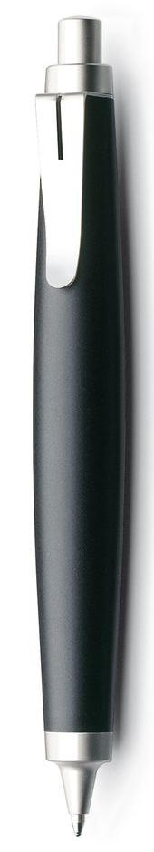 Lamy Ручка шариковая Scribble цвет корпуса черный черная4001021Ручка шариковая Scribble знаменитого бренда Lamy станет прекрасной покупкой.Шариковая ручка имеет съемный клип. Стальные детали шариковой ручки покрыты не тускнеющим ценным палладием. Ручка изготовлена из прочного двухкомпонентного пластика..Ручка идеального размера, что позволяет принять правильное положение пальцев на письме.Используется стержень LAMY M22. Цвет пасты - черный.Ручка упакована в подарочную коробку.