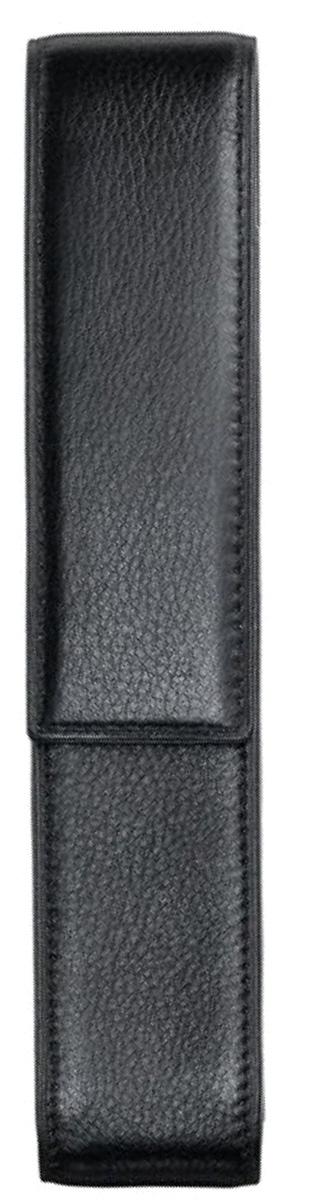 Lamy Чехол для ручки A201 цвет черный1224772Чехол на одну ручку из высококачественной кожи с бархатисто-матовой поверхностью. Закрывается с помощью магнита. Цвет: черный