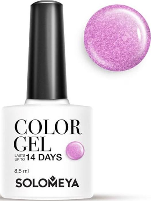 Solomeya Гель-лак Color Gel, тон Kelly SCG119 (Келли), 8,5 мл08-1483Гель-лак Color Gel Solomeya - это широкая и постоянно обновляющаяся палитра оттенков и сенсационная стойкость до 21 дня. Он легко и равномерно наносится, не оставляя разводов, полос, пузырьков и проплешин. Каждый оттенок отличает высокой пигментированностью и насыщенностью. Не содержит толуол, растворители и отвердители.
