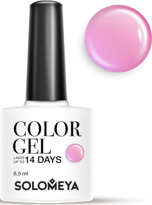 Solomeya Гель-лак Color Gel, тон Candy Floss SCG060 (Сахарная вата), 8,5 мл