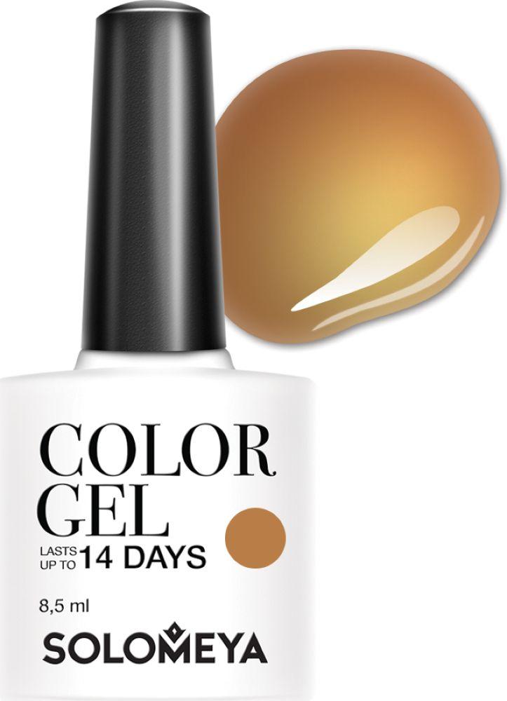 Solomeya Гель-лак Color Gel, тон Lenuta SCG143 (Ленута), 8,5 мл08-1612Гель-лак Color Gel Solomeya - это широкая и постоянно обновляющаяся палитра оттенков и сенсационная стойкость до 21 дня. Он легко и равномерно наносится, не оставляя разводов, полос, пузырьков и проплешин. Каждый оттенок отличает высокой пигментированностью и насыщенностью. Не содержит толуол, растворители и отвердители.