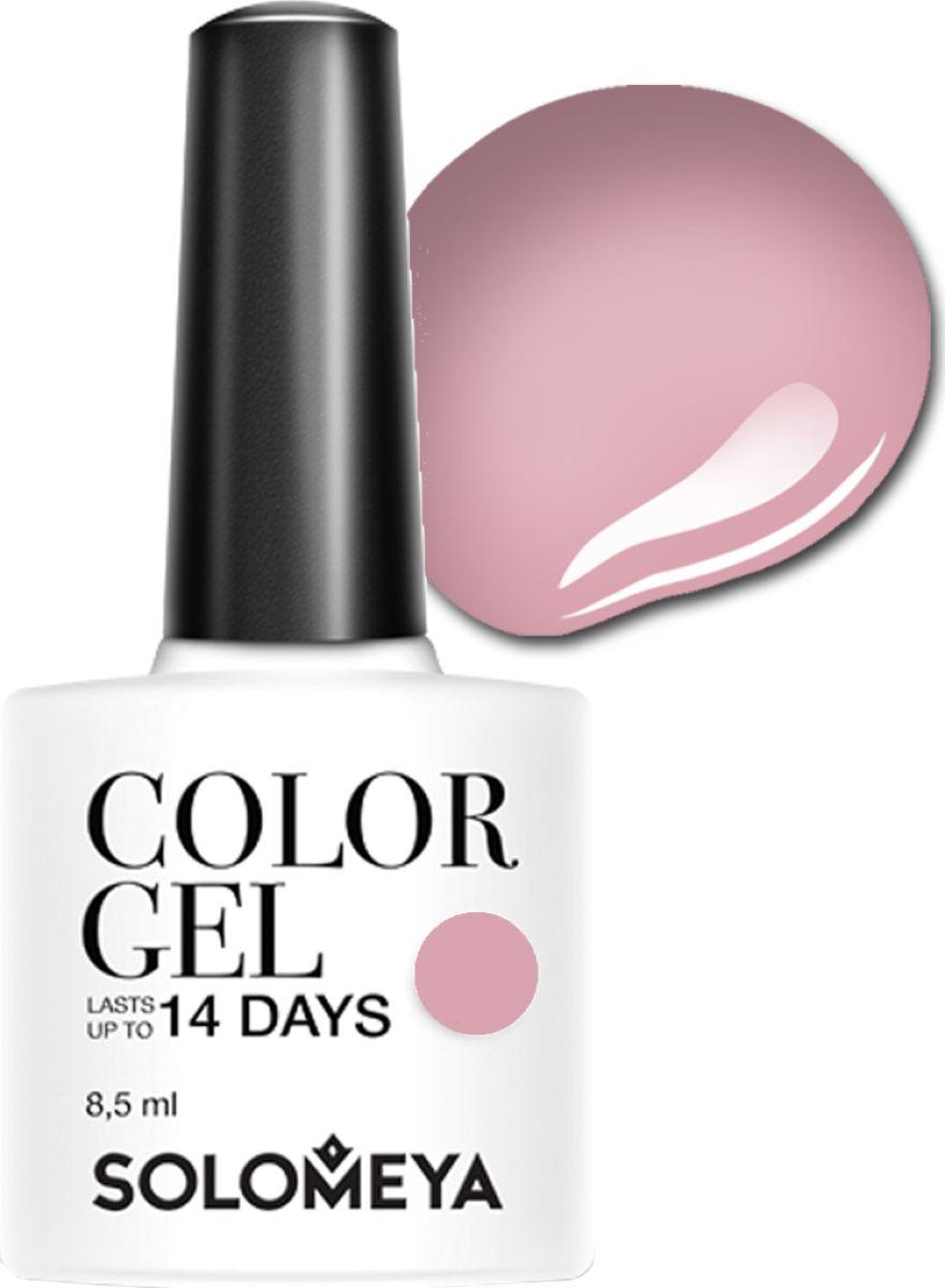 Solomeya Гель-лак Color Gel, тон Spring Lilac SCG054 (Весенняя сирень), 8,5 мл08-1663Гель-лак Color Gel Solomeya - это широкая и постоянно обновляющаяся палитра оттенков и сенсационная стойкость до 21 дня. Он легко и равномерно наносится, не оставляя разводов, полос, пузырьков и проплешин. Каждый оттенок отличает высокой пигментированностью и насыщенностью. Не содержит толуол, растворители и отвердители.