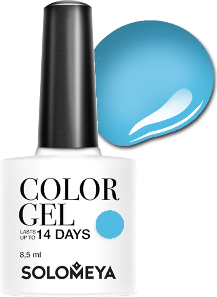 Solomeya Гель-лак Color Gel, тон Blue Sky SCG078 (Голубое небо), 8,5 мл08-1668Гель-лак Color Gel Solomeya - это широкая и постоянно обновляющаяся палитра оттенков и сенсационная стойкость до 21 дня. Он легко и равномерно наносится, не оставляя разводов, полос, пузырьков и проплешин. Каждый оттенок отличает высокой пигментированностью и насыщенностью. Не содержит толуол, растворители и отвердители.