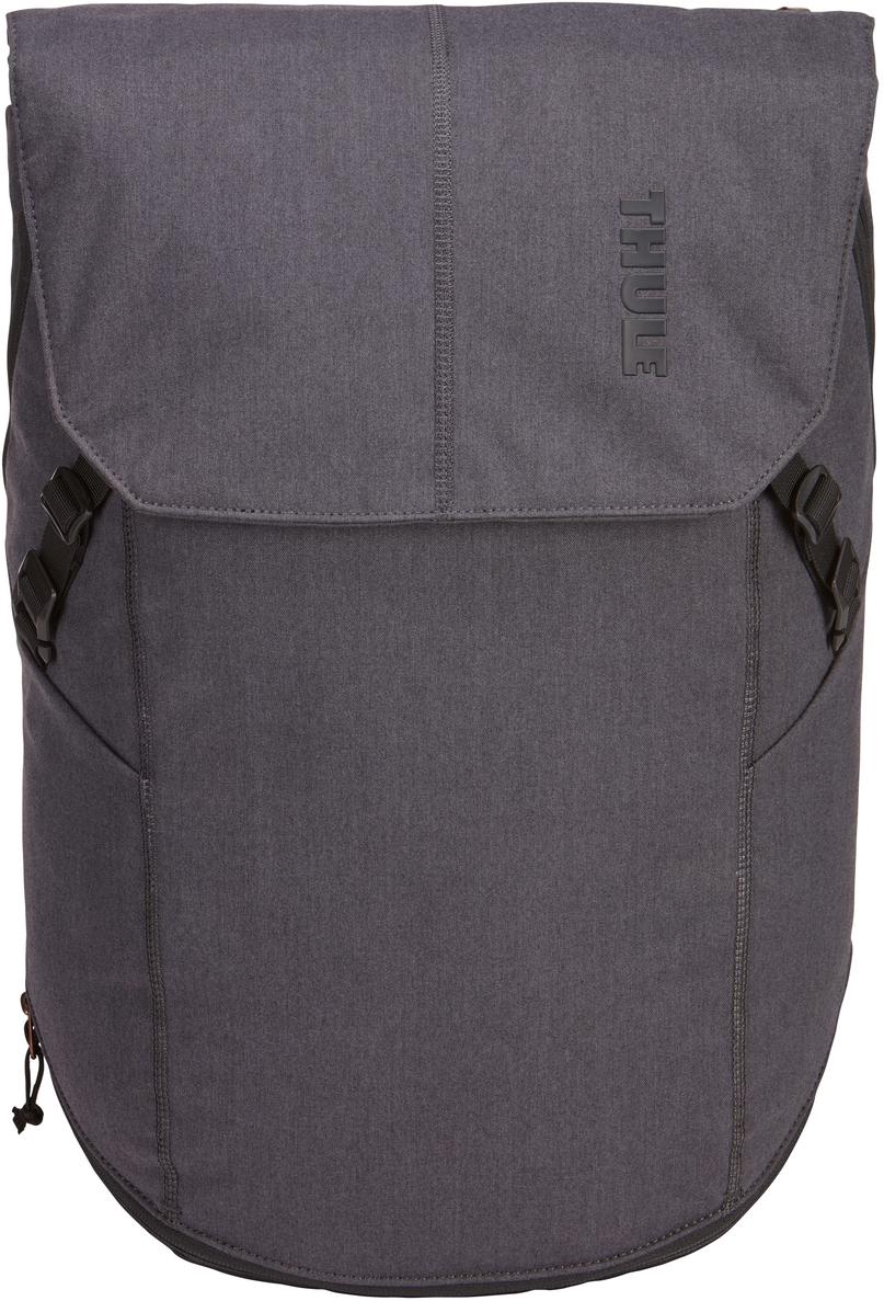 Рюкзак городской Thule Vea Backpack, цвет: черный, 25 л3203512В этом стильном рюкзаке вещи для занятий спортом и работы хранятся отдельно друг от друга, что позволяет легко успеть в тренажерный зал и завершить все дела в офисе. Особенности:Специальные накладные карманы с мягкой подкладкой подходят для MacBook с диагональю 15 дюймов, ноутбуков с диагональю 15,6 дюймов и планшетов с диагональю 10 дюймов.Храните все необходимые для работы вещи в специальном отделении, предназначенном для ноутбуков, планшетов, файлов, ручек, паспортов, USB-накопителей, небольших шнуров и аксессуаров.В растягивающемся внутреннем кармане можно хранить грязную одежду.Храните обувь в отдельном растягивающемся кармане, расположенном с внешней стороны рюкзака. Если он не используется, его можно стянуть, чтобы освободить место.Во внешнем потайном кармане с плисовой подкладкой удобно хранить телефон.Внутренние сетчатые карманы предназначены для хранения вещей, необходимых при походе в спортзал: от замка, ключей и карты доступа до расчески и туалетных принадлежностей.Светоотражающие элементы на передней части сумки и наплечных ремнях обеспечат безопасность на дороге.Затяните и закрепите коврик для йоги или куртку под клапаном на застежках.Система молний и клапанов для безопасного хранения ваших вещей в главном отделении.Наплечные ремни с мягкой подкладкой и задняя панель с вентиляционным каналом обеспечивают комфорт при ношении рюкзака.