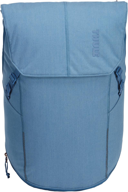 Рюкзак городской Thule Vea Backpack, цвет: светло-синий, 25 л3203513В этом стильном рюкзаке вещи для занятий спортом и работы хранятся отдельно друг от друга, что позволяет легко успеть в тренажерный зал и завершить все дела в офисе. Особенности:Специальные накладные карманы с мягкой подкладкой подходят для MacBook с диагональю 15 дюймов, ноутбуков с диагональю 15,6 дюймов и планшетов с диагональю 10 дюймов.Храните все необходимые для работы вещи в специальном отделении, предназначенном для ноутбуков, планшетов, файлов, ручек, паспортов, USB-накопителей, небольших шнуров и аксессуаров.В растягивающемся внутреннем кармане можно хранить грязную одежду.Храните обувь в отдельном растягивающемся кармане, расположенном с внешней стороны рюкзака. Если он не используется, его можно стянуть, чтобы освободить место.Во внешнем потайном кармане с плисовой подкладкой удобно хранить телефон.Внутренние сетчатые карманы предназначены для хранения вещей, необходимых при походе в спортзал: от замка, ключей и карты доступа до расчески и туалетных принадлежностей.Светоотражающие элементы на передней части сумки и наплечных ремнях обеспечат безопасность на дороге.Затяните и закрепите коврик для йоги или куртку под клапаном на застежках.Система молний и клапанов для безопасного хранения ваших вещей в главном отделении.Наплечные ремни с мягкой подкладкой и задняя панель с вентиляционным каналом обеспечивают комфорт при ношении рюкзака.