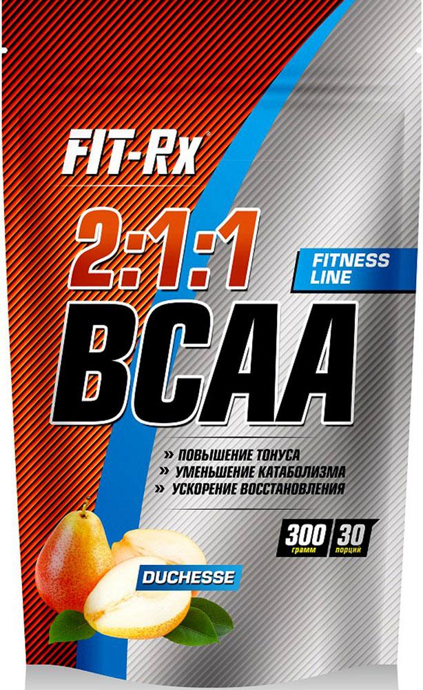 """Концентрат напитка сухой FIT-Rx """"BCAA 2:1:1"""", со вкусом дюшес, 300 г"""