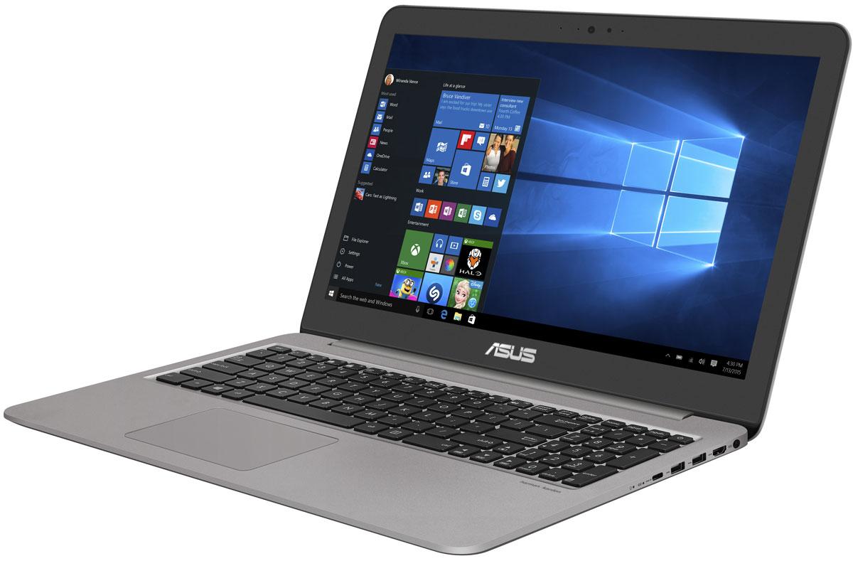 ASUS VivoBook 15 X510UQ, Quartz Grey (90NB0FM2-M09900)90NB0FM2-M09900ASUS VivoBook 15 X510UQ – это мультимедийный ноутбук для повседневного использования, объединяющий в себе красивый дизайн с современными технологиями. Работая под управлением операционной системы Windows 10, он предлагает пользователю всю мощь процессора Intel Core i5 в сочетании с видеокартой NVIDIA GeForce 940MX и объемом оперативной памяти DDR4 в 4 ГБ. Для хранения файлов у него имеется традиционный жесткий диск емкостью в 1 ТБ.VivoBook 15 X510UQ – это ноутбук для повседневного использования, который может поспорить с ультрабуками по легкости и компактности. Его вес составляет не более 1,5 кг, а толщина корпуса – всего лишь 19,4 мм.Хотя по размеру корпуса VivoBook 15 X510UQ соответствует типичным 14-дюймовым ноутбукам, его дисплей имеет размер 15,6 дюйма. Это стало возможным за счет невероятно тонкой экранной рамки NanoEdge толщиной всего 7,8 мм: площадь дисплея составляет 80% от площади крышки. Используемая в нем ЖК-матрица формата Full HD может похвастать широкими углами обзора (178°), поэтому изображение на экране этого ноутбука будет ярким и контрастным даже при взгляде со стороны.Данный ноутбук предлагает современные интерфейсы для подключения периферийных устройств. Представленный обратимым разъемом Type-C, интерфейс USB 3.1 обладает пропускной способностью до 5 Гбит/с, что в 10 раз лучше по сравнению с USB 2.0. Передача по нему 2-гигабайтного видеофайла займет менее двух секунд!Технология Splendid позволяет выбрать один из трех предустановленных режимов работы дисплея, каждый из которых оптимизирован под определенные приложения: режим Vivid подходит для просмотра фотографий и фильмов, режим Normal – для обычной работы в офисных приложениях, а режим Eye Care – для комфортного чтения с экрана. Кроме того, имеется режим Manual, в котором параметры цветопередачи можно настроить вручную.Технология ASUS Tru2Life Video служит для автоматической оптимизации параметров изображения, таких как резко