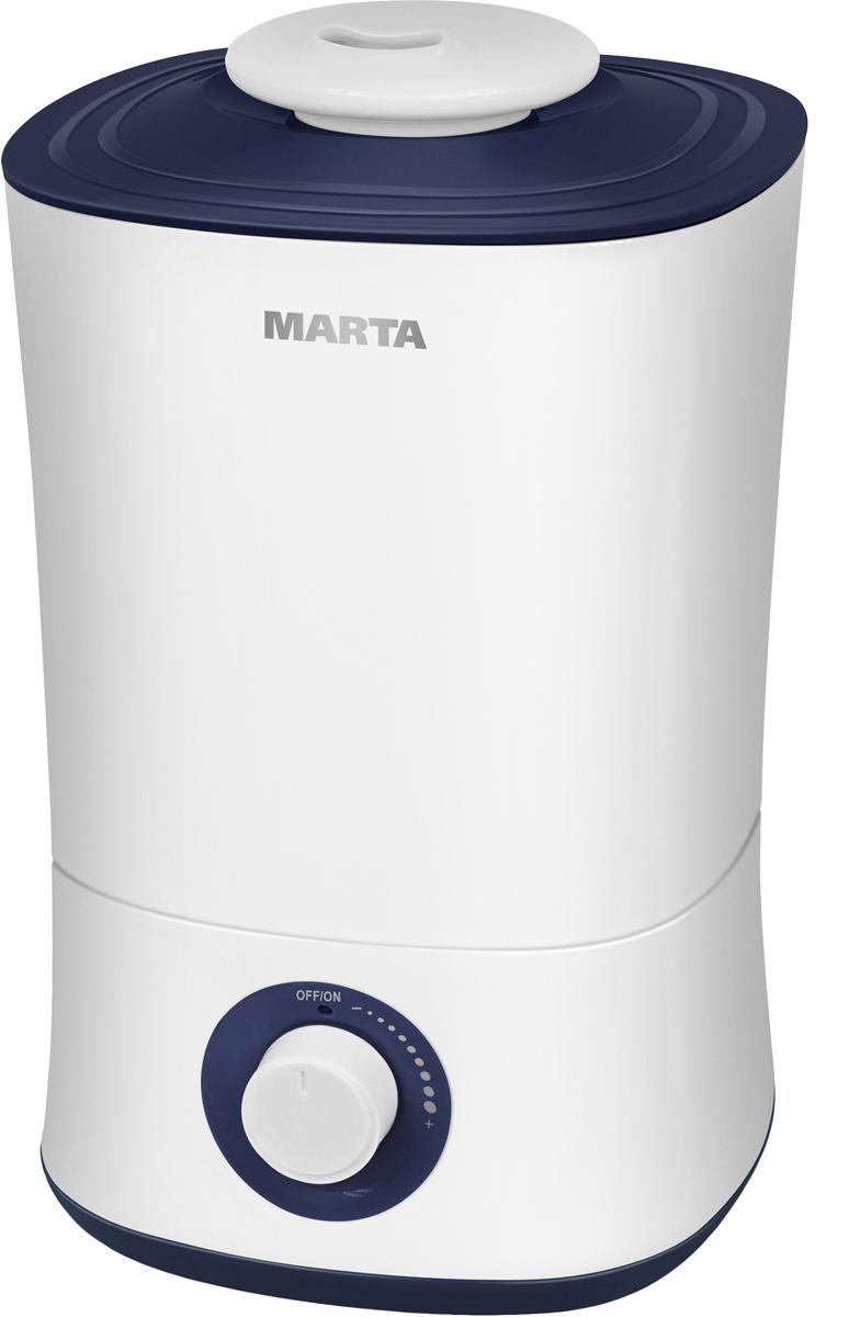 Marta MT-2687, White Blue Sapphire увлажнитель воздуха