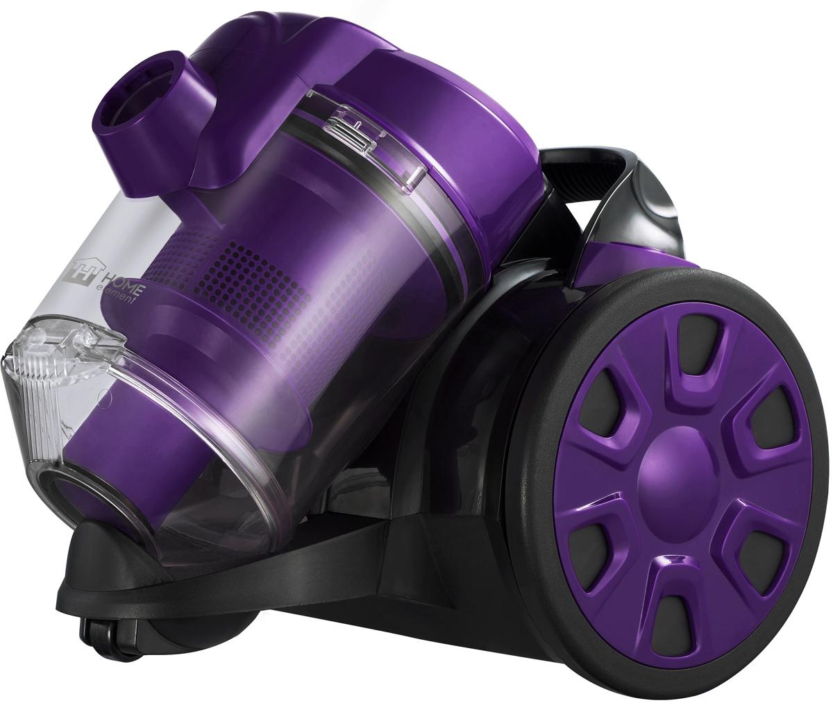 Home Element HE-VC1802, Black Violet пылесос