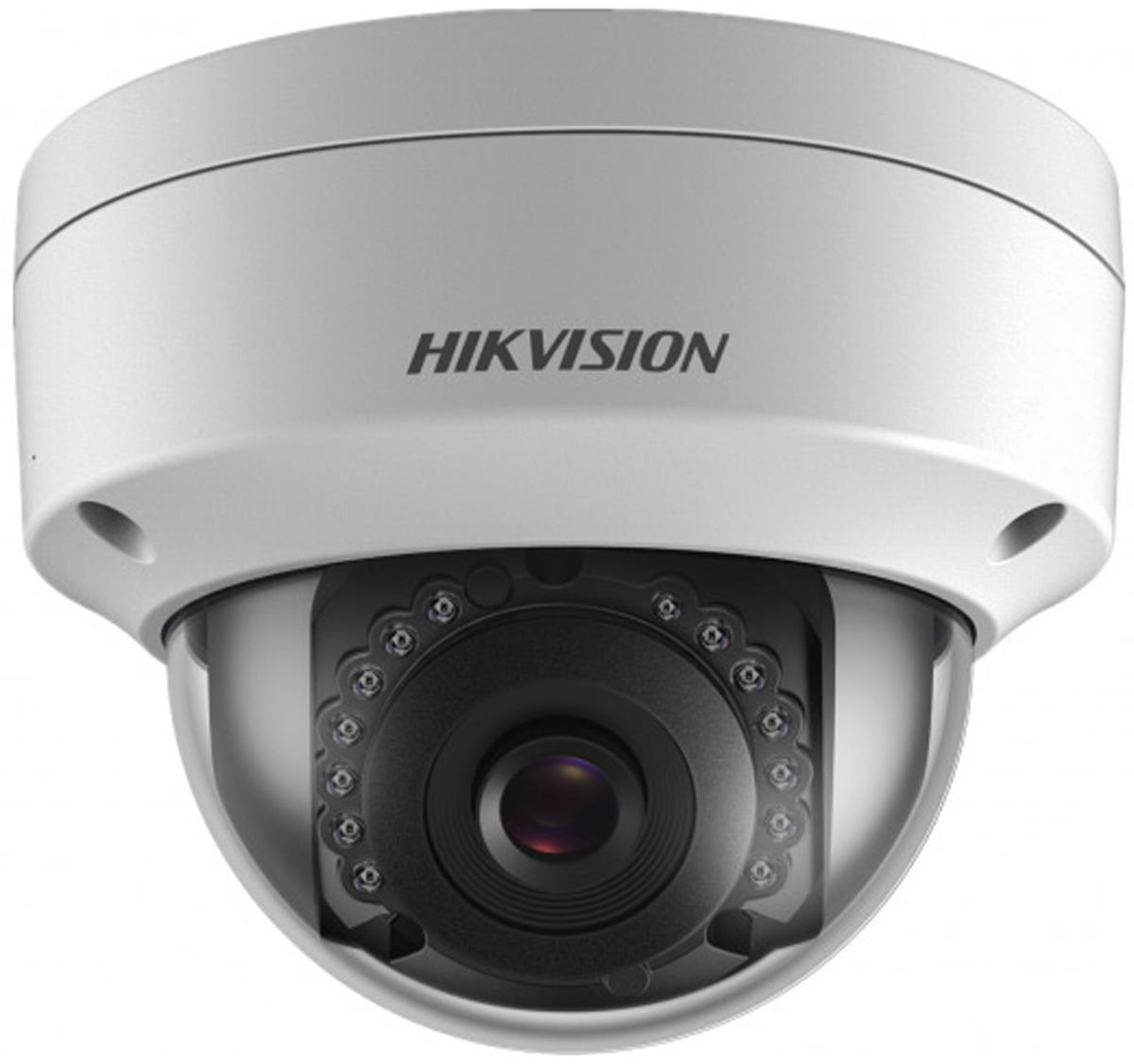 Hikvision DS-2CD2122FWD-IS T 4mm камера видеонаблюдения3469982Мп уличная купольная IP-камера с ИК-подсветкой до 15м1/2.8 Progressive Scan CMOS; объектив 4мм; угол обзора 90°; механический ИК-фильтр; 0.01лк@F1.2; сжатие H.264/MJPEG/H.264+; двойной поток; 1920?1080@25к/с; WDR 120дБ, 3D DNR, BLC, ROI; обнаружение движения, вторжения в область и пересечения линии; слот для microSD до 128Гб; аудиовход/выход 1/1; тревожные вход/выход 1/1; 1 RJ45 10M/100M Ethernet; DC12В± 25%/PoE(802.3af); 5Вт макс; -40 °C...+60 °C; IP67; IK10; вес 0.5кг.