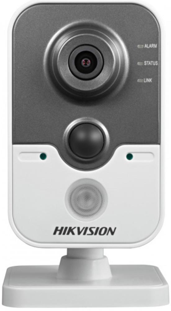 Hikvision DS-2CD2422FWD-IW 2.8mm камера видеонаблюдения4021132Мп компактная IP-камера с W-Fi и ИК-подсветкой до 10м 1/2.7 Progressive Scan CMOS; объектив 2.8мм; угол обзора 115.6°; механический ИК-фильтр; 0.01лк@F1.2; сжатие H.264/MJPEG/H.264+; двойной поток; 1920?1080@25к/с; WDR 120дБ, 3D DNR, BLC, ROI; обнаружение движения, вторжения в область и пересечения линии; слот для microSD до 128Гб; встроенные микрофон и динамик; тревожные вход/выход 1/1; PIR-датчик; 1 RJ45 10M/100M Ethernet; DC12В± 10%/PoE(802.3af); 5Вт макс; -20 °C...+60 °C; вес 0.4кг.